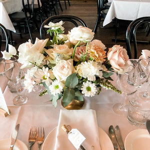 Wedding Reception Guest Tables - Urn Arrangement