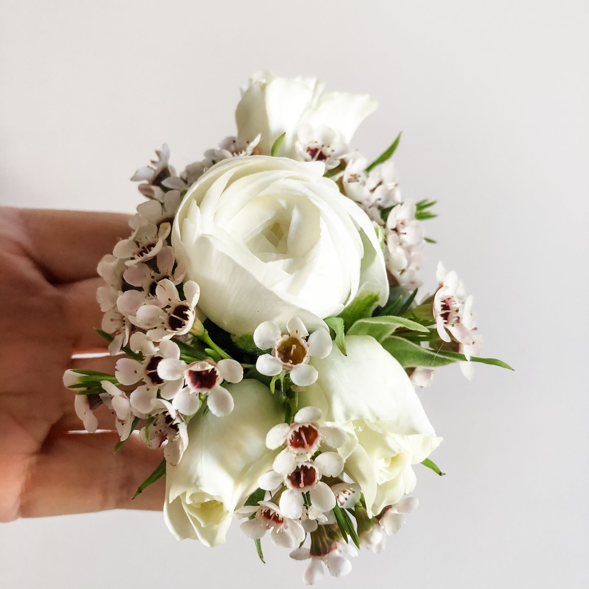 Wedding Corsage Cuff