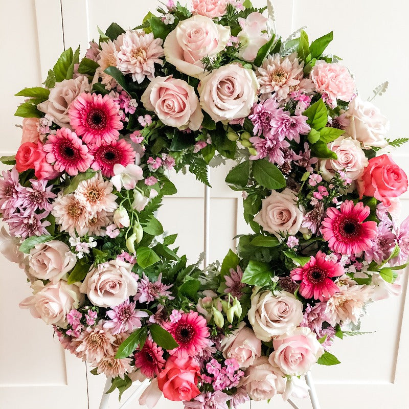 Funeral flowers - Wreath - Thinking of You