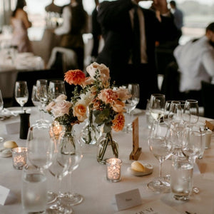 Wedding Reception Guest Tables - Bud Vases