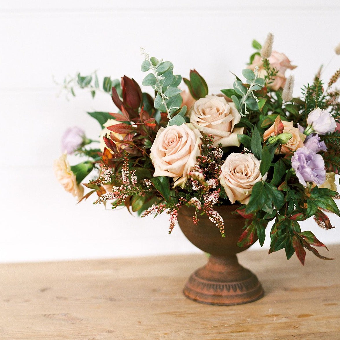 Gathered Urn Arrangement