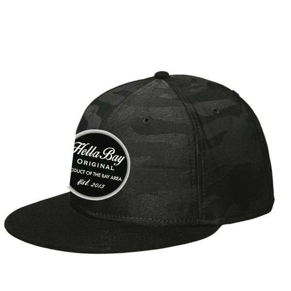 New Era Camo Snapback | Black