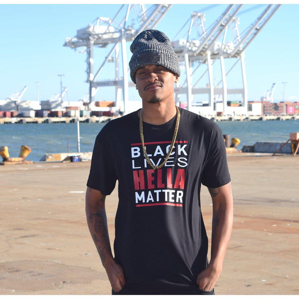 Black Lives Tee Hella Bay