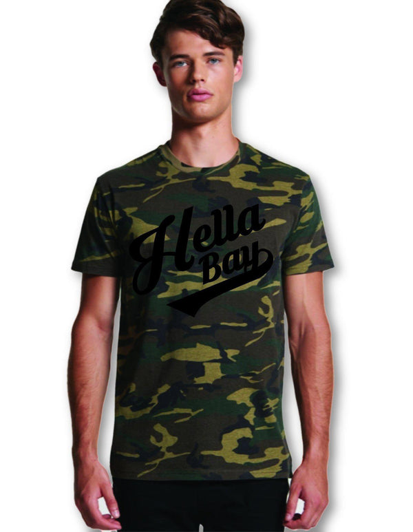 Camo Tee Hella Bay Clothing Small