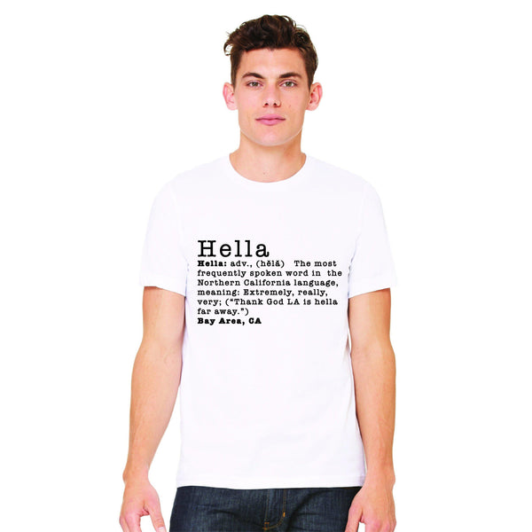 Definition of Hella Tee Hella Bay Clothing Small White
