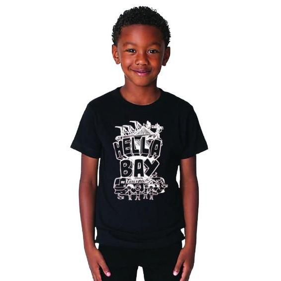 Sketch Tee Youth Kids Hella Bay Clothing