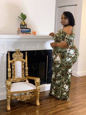 Army Green Fall Jumpsuit