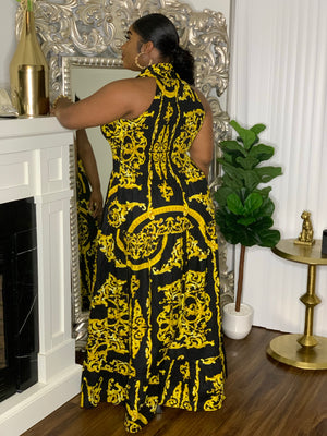 Royalty Maxi Stretch Dress