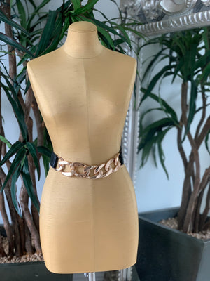 Chain Statement Belt Black