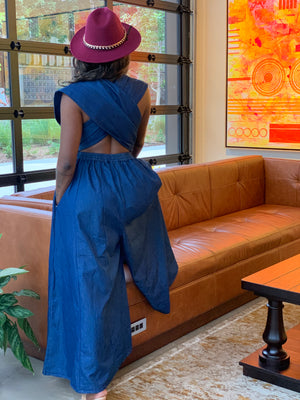 Denim Infinity Jumpsuit