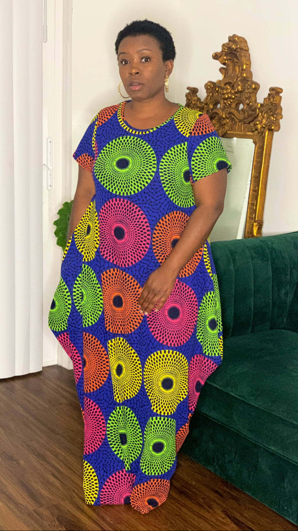 African  Matrix Dress Print