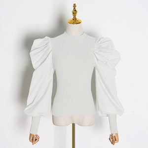 Rave Statement Blouse Ivory