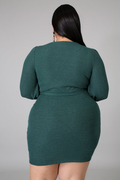 Green According Dress