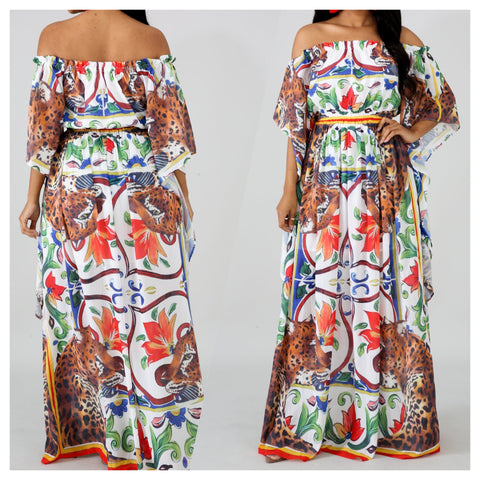 Jaguar Maxi Dress Small