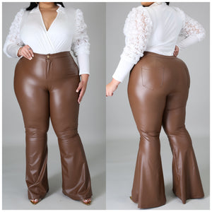 Brown Bottom Pants