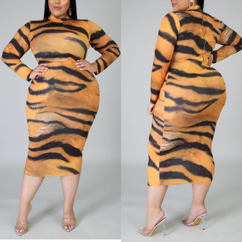 Carol Baskin Bodied Dress
