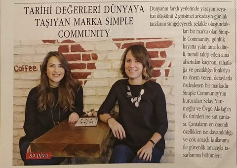 Simple Community at Diva Magazine