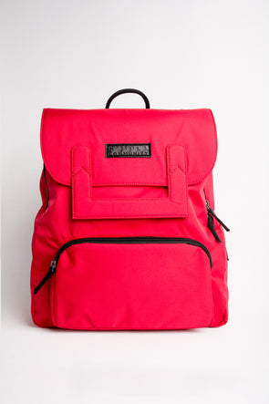 Oxford Red Backpack