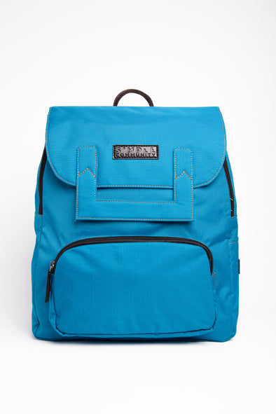 Melrose Blue Backpack