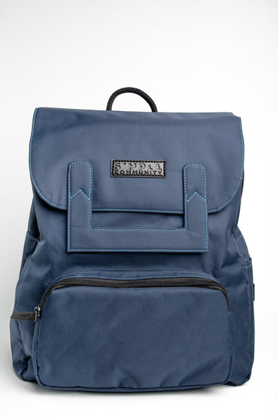 Melrose Navy Backpack