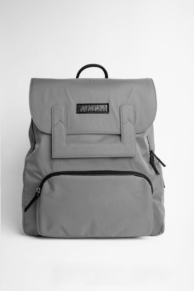 Oxford Gray Backpack