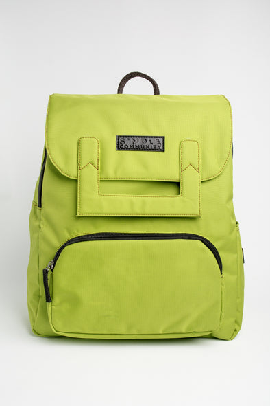 Melrose Lime Backpack