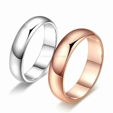 2 for 1: His and Hers Wedding Bands - HoardOfTheRings.com