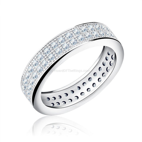 Elegant Eternity Ring - HoardOfTheRings.com