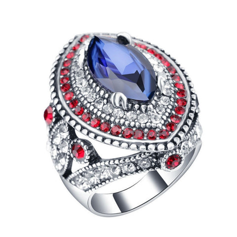 Big Gemstone Party Ring