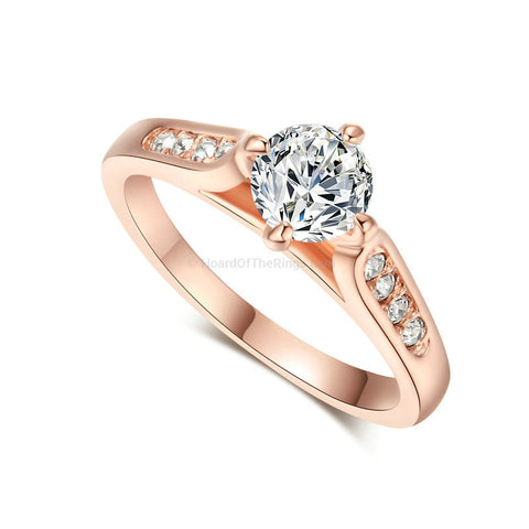 1ct Rose Gold Wedding Ring - HoardOfTheRings.com