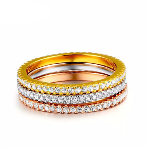3 Eternity Rings in 1 - HoardOfTheRings.com