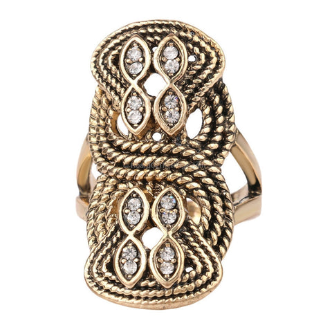 Boho Turkish Inspired Rope Ring - HoardOfTheRings.com