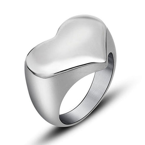 The Steel Love Ring - HoardOfTheRings.com