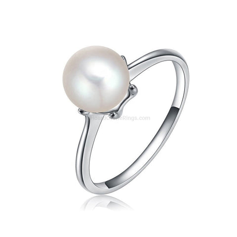 The White Pearl Ring - HoardOfTheRings.com