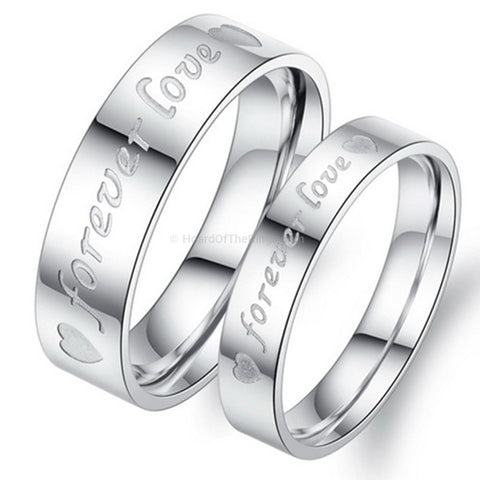 2 Forever Love Rings - HoardOfTheRings.com