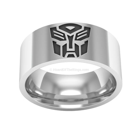 Transformers Autobot Ring - HoardOfTheRings.com