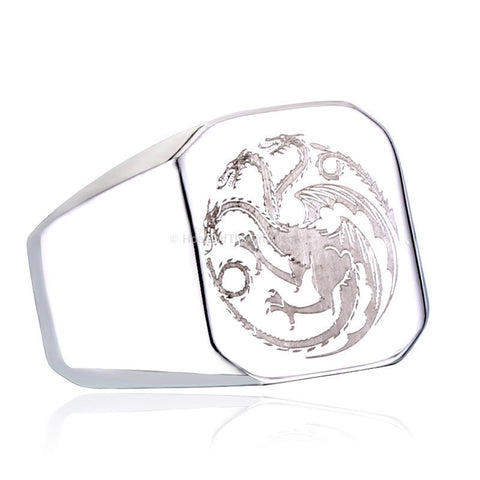 Game of Thrones Dragon Ring - HoardOfTheRings.com