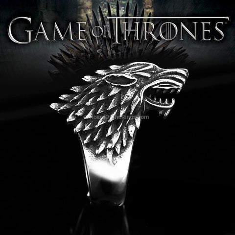 Game of Thrones Wolf Ring
