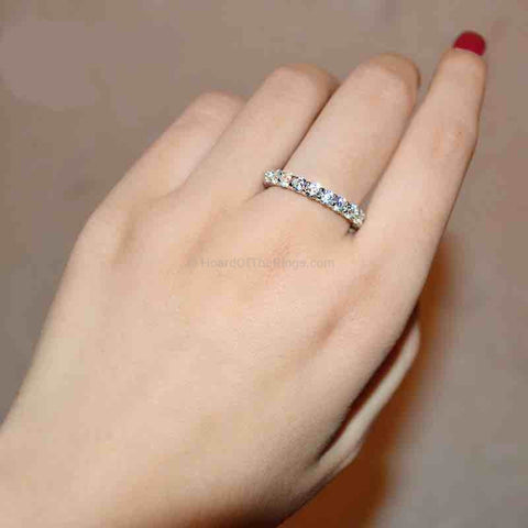 1 Carat Eternity Ring - HoardOfTheRings.com