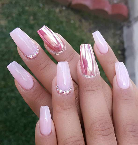 15 Mirror Nail Designs to Copy Right Now - lust4nails