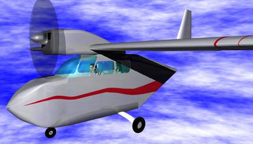 Sky Chariot Wheelchair Airplane