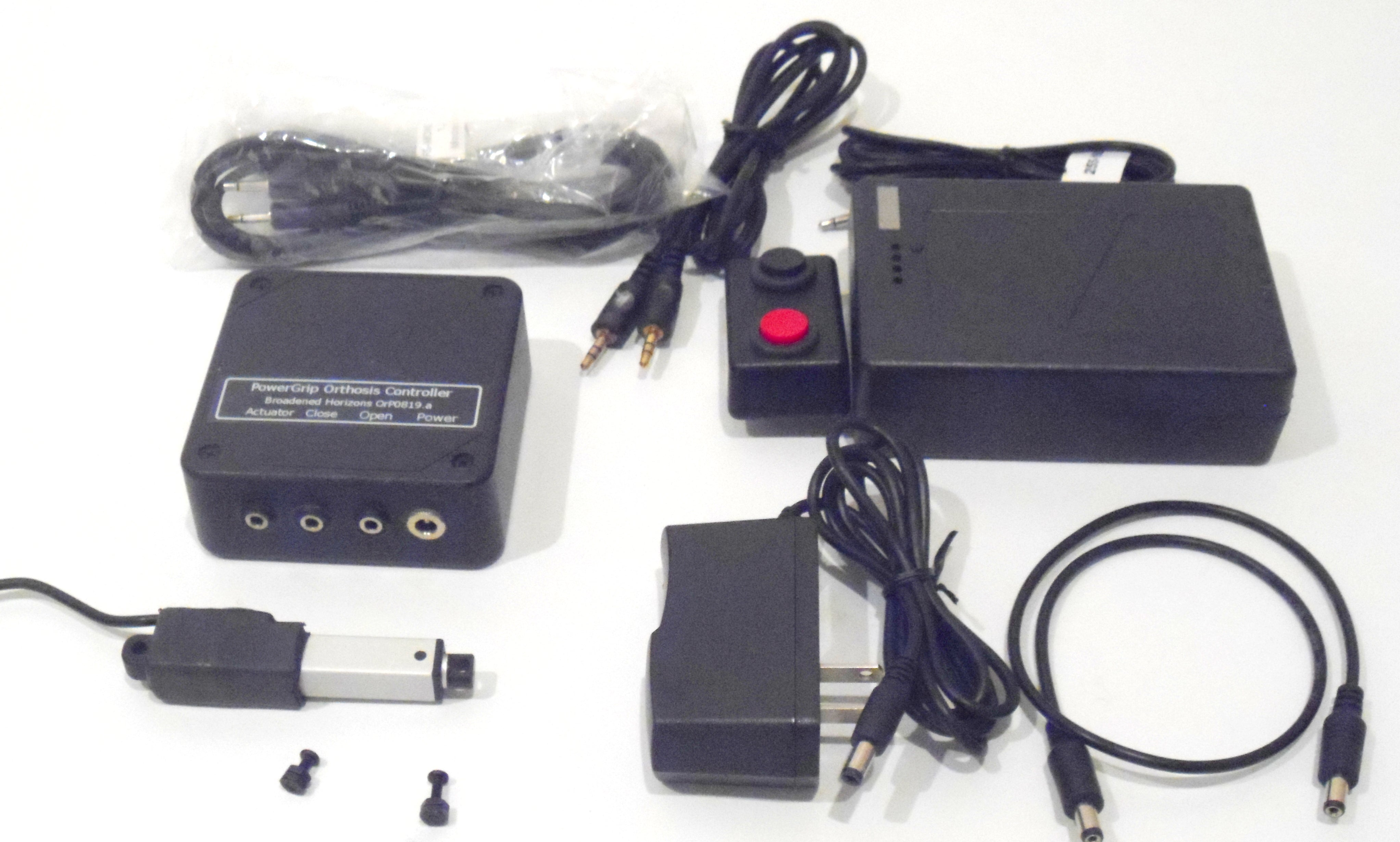 PowerGrip Controller Kit with Roughneck Dual Pushbutton Switches and Lithium-Ion Battery Pack