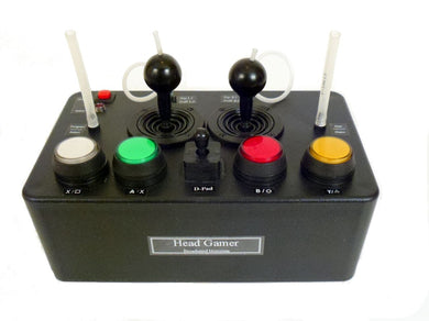 Headmaster Sip-n-Puff Mouth Joystick Programmable Video Game & Mouse Controller - Broadened Horizons Direct