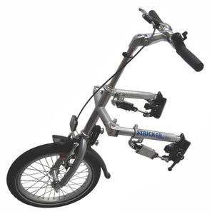 Stricker Lomo 3rd Wheel Attachment with Handlebars for Outdoors & Travel - Broadened Horizons Direct