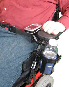 3rd Arm 3 Joint Wheelchair Seat Frame Mount - Broadened Horizons Direct