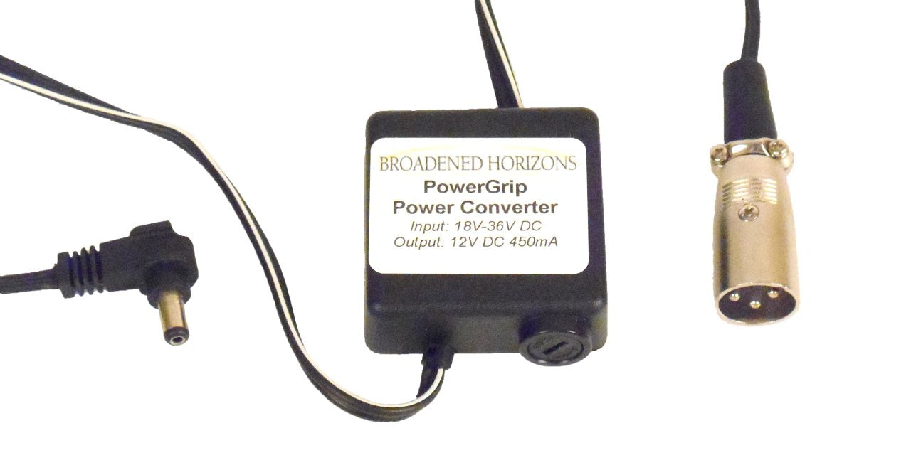 Power2Go PowerGrip Wheelchair Charging Socket Power Adapter - Broadened Horizons Direct