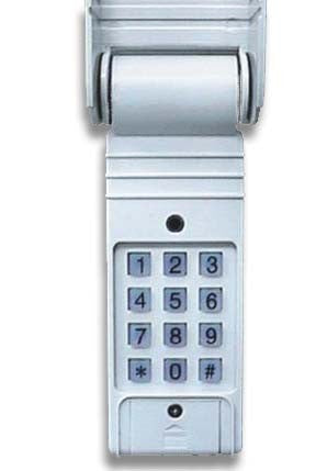 Security Keypad- Exterior Keyless Code Entry for Compact Power Door Openers - Broadened Horizons Direct