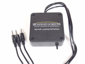 Sip-n-Puff & Latching Puff Switches for Gaming or Intercom - Broadened Horizons Direct