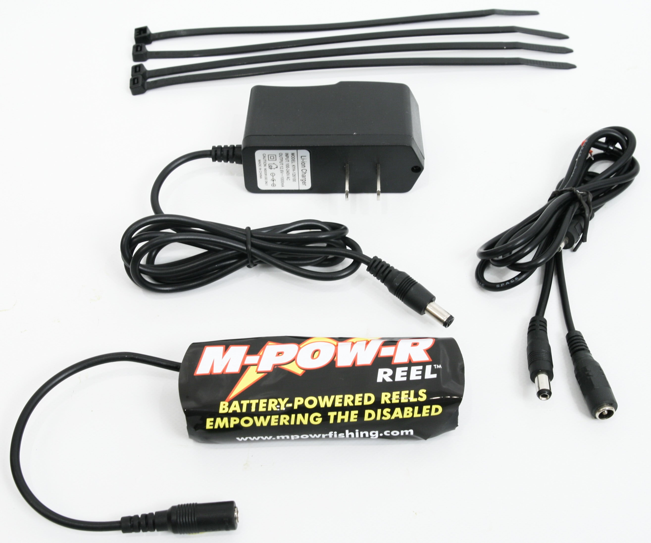 Extra 2nd Gen Battery & Charger - 12V 2200mah Lithium-Polymer - Broadened Horizons Direct