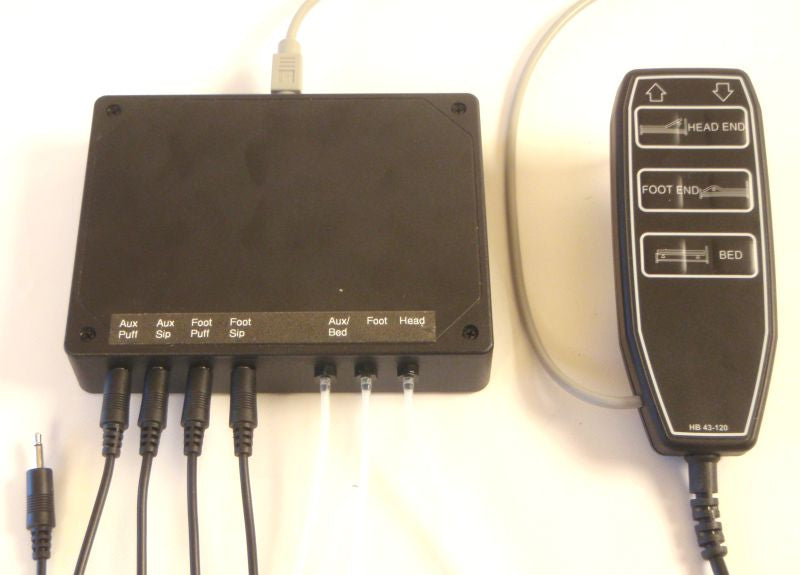 Sip-n-Puff Bed Controller - Broadened Horizons Direct